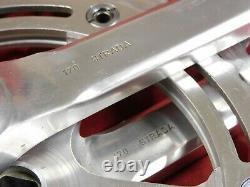 1960's Campagnolo 1049 Nuovo Record Strada Crank Set 51/44 x 170 x 151 mm BCD