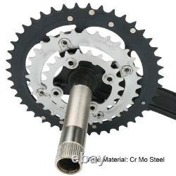 7/8/9 Speed 22/32/44T Triple 64/104bcd MTB Bike Chainset Chainring Crank Set BB