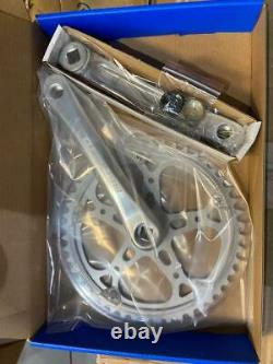 BENOTTO Crank Set Steel Aluminum 170mm Chainset 48T Bike Cycle Pista track
