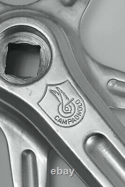 CAMPAGNOLO Record Pista Vintage Track Pursuit 54t Crank Set 177.5mm 144 BCD