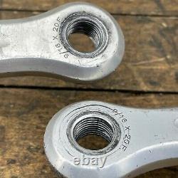 Campagnolo Crank Set 172.5 mm 144 BCD Record Vintage Super Campy English Square