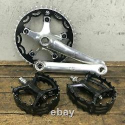 Campagnolo Crank Set BMX MTB Fixie 110 Euclid Single Sinz Primo NEW Wolf Tooth