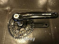 FSA Gossamer 172.5mm 110BCD BB30 Crank Set, 46/36 Rotor Q Rings