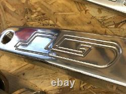 GT BMX Crank, GT 165 FSA Alloy Crank set, complete, Old School, Mid School, USA