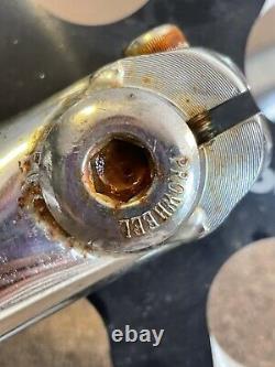 GT BMX/ Mongoose Team Issue/3pc bmx crank set Used COMPLETE + Alluminum Sprocket