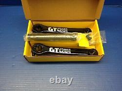 GT Power Series 175mm aluminum alloy 22mm spindle BMX bicycle crank set Black