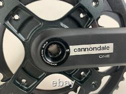 NEW CANNONDALE ONE/FSA 46/30T 172.5mm Sub Compact Crank Set Road Gravel Bike