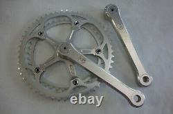 NOS Campagnolo SUPER RECORD Crank Sets 172.5mm SUGINO Rings 52t 42t 1986 Vintage