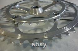 NOS SUNTOUR SUPERB PRO Crank Set CW-SB10 175mm 53t 38t Late 1980-Early 1990