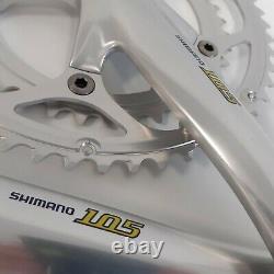 NOS Shimano 105 Crank Set FC-5500 172.5 mm 52/39 9sp VINTAGE OctaLink Crankset