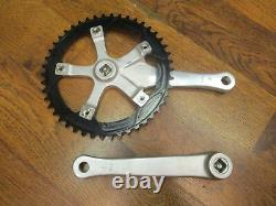 Nos Stronglight Mygal 130 Bcd 46t Track Cnc Crank Set