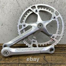 OFMEGA MISTRAL Crank Set 52 / 42 Chainset 170mm Vintage 1980s