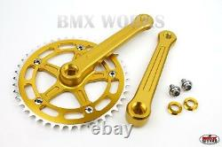 ProBMX BMX 3 Piece Aluminium Cranks Set Old School BMX Style Modern Quality