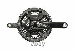 Quarq DFour91 Power Meter Crank Set 11s 172.5mm 53/39T 110mm BCD BB30 Good
