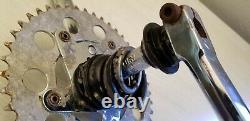 RARE Diamondback Reactor 180 2 pc crank set 44 chainring & spider mid school BMX