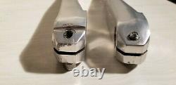 RARE POWERLITE stamped FSA cranks 3 piece crank set 175 mm comlete GT Show