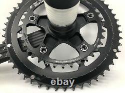 ROTOR 3D30 Alloy 52/36 Mid-Compact 170mm Crank Set & BB EXCELLENT MINIMAL USE