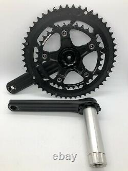 ROTOR 3DF Forged Alloy 52/36 Mid-Compact 170mm Crank Set NEW BIKE TAKE-OFF