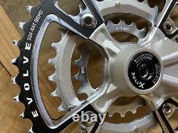 Race Face Evolve Crank Set Crankset with Bottom Bracket, 3x9 Speed, 175mm, X-Type
