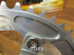 Rare Nos Stronglight Mygal 130 Bcd Cnc 48t Track Crank Set
