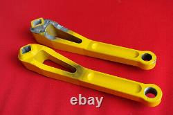 RooX MXC XC 175mm Kurbeln Kurbelset crank crankset gelb Kult Retro MTB yellow