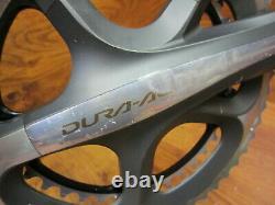 SHIMANO DURA ACE FC-7900 172.5L 53/39T 2x 10 SPEED DOUBLE CRANK SET & ENGLISH BB