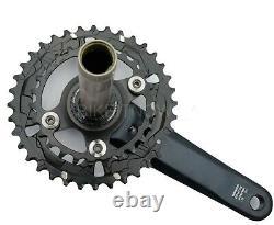 SHIMANO SLX Crank set 2x 12-speed 175mm FC-M7120-B2 Boost 36-26 teeth Black