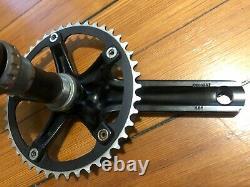 SRAM Omnium Crankset 144 BCD 165mm 44T Black Track Fixed Gear Crank Set + GXP BB