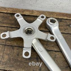 SR Crank Set APEX Old School BMX Road 170mm Vintage 110 BCD 1981 81 Stamp
