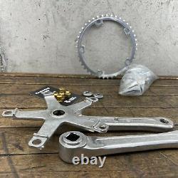 SR Crank Set Old School BMX Super Custom 170mm 42 42T Vintage 144 1983 GOLD