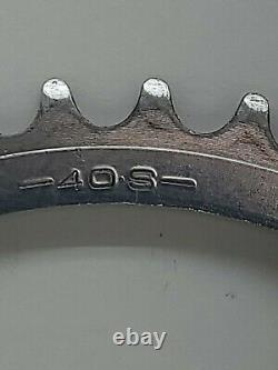Sakae SX Crank Set Crankset 170mm 40t 40S SR 271 BMX Made in Japan Vintage