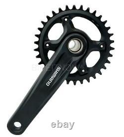 Shimano 1x12 Speed FC-MT610 175mm, 30/32/34T MTB Bike Bicycle Crank set Black