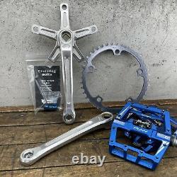 Shimano 600 Arabesque Crank Set Lot Vintage Old BMX GT Mongoose Diamond Back