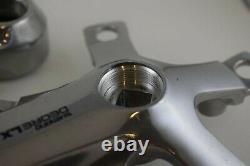 Shimano Deore LX FC-M550 crank arm set 170mm BCD 110 & 74 triple Alloy vintage