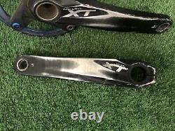 Shimano Deore XT FC-M785 Crank Set Arms 175mm 10-11 Speed Black MTB Crankset