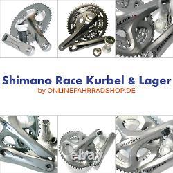 Shimano FC-5703 oder FC-R563 3x10-fach Kurbel Triple crankset m/o BSA Lager