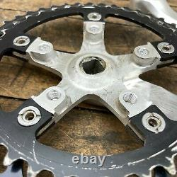 Shimano FC-6206 Crank Set Deer Head XT Vintage Mountain Bike Triple 170 mm