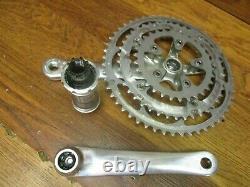 Shimano Ultegr Fc-6503 175l 52/42/30t 9 Speed Triple Crank Set & Bottom Bracket