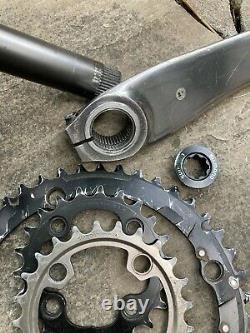 Shimano XTR FC-M960 44/32/22t Ring Mountain Bike Crank Set Or Single w Bashguard