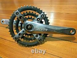Shimano XTR FC-M960 Triple MTB Crank Set & Bottom Bracket, 3x9 Speed, 175mm