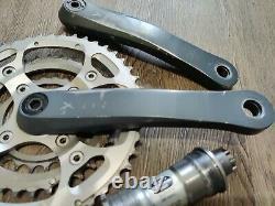 Shimano XTR M952 175mm Cranks Crankset with Bottom Bracket Crank Set Mountain Bike