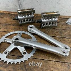 Sugino Crank Set Old School BMX Single Fixie 40t Pedals Cranks