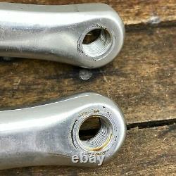 Sugino GT Crank Set Old School BMX Road 165 mm Vintage Cranks 110 BCD Silver