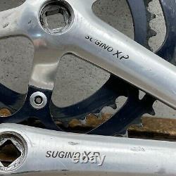Sugino XP Crank Set Vintage 175mm 110 74 BCD MTB Suntour Trek