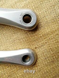Suntour Superbe Pro NJS track pista crankset 144BCD 172.5mm fixed gear cranks