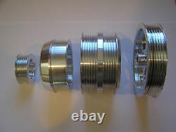 UD Underdrive Crank Pulley Set fits 93-95 Mazda RX7 RX-7 RX 7 1.3L Turbo FD3S