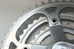 VINTAGE SUGINO VP 170mm 5 BOLT 48/38/28T TRIPLE CRANK SET Steel chainrings