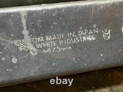 VINTAGE WHITE INDUSTRIES 175mm 94/58 BCD 42/32/22T SQUARE TAPER CRANK SET
