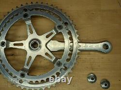 VTG Suntour Superbe Road Bike crank set 170mm 52/42T 144 BCD with dustcaps