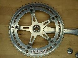 VTG Suntour Superbe Road Bike crank set 170mm 52/42T 144 BCD with dustcaps I2